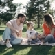 Outdoor Family Day. Mother, Father and the Daughter - VideoHive Item for Sale