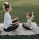 Mother and Daugher Are Practising Yoga. Family Time - VideoHive Item for Sale