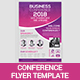 Conference Flyer Template - GraphicRiver Item for Sale