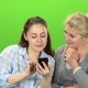 Girl Shows Something in the Phone To Her Mother - VideoHive Item for Sale
