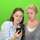 Mom and Daughter Do Selfie - VideoHive Item for Sale