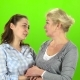 Mom and Daughter on Talking - VideoHive Item for Sale