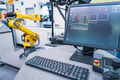 Robotic Arm modern industrial technology. Automated production c - PhotoDune Item for Sale