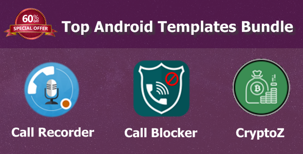 Top Android Templates Bundle - CodeCanyon Item for Sale
