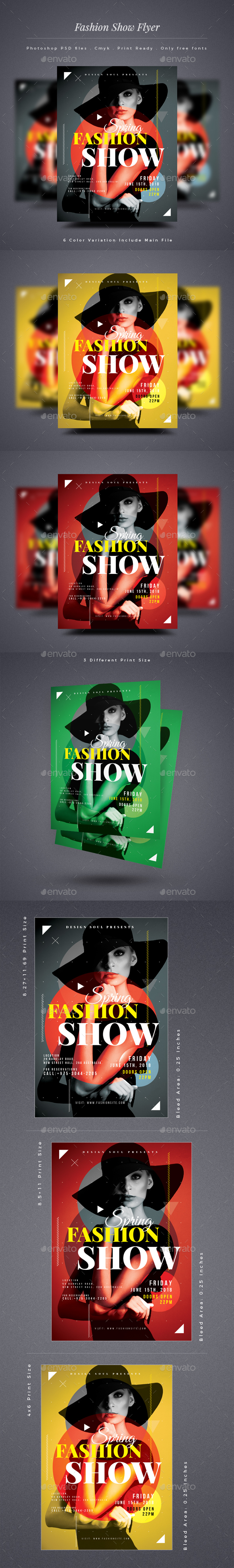 Fashion Show Flyer - Miscellaneous Events