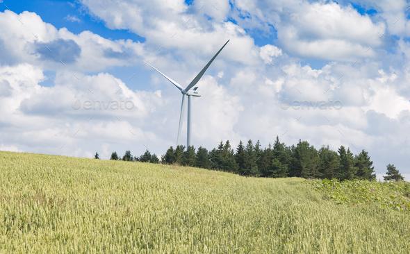 wind turbine - Stock Photo - Images