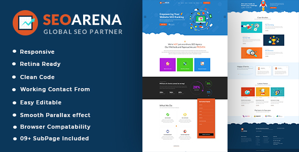 Seoarena - SEO /Digital Agency HTML5 Template