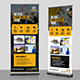 Construction Firm Roll-Up Banner - GraphicRiver Item for Sale