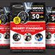 Tires Services Flyer - GraphicRiver Item for Sale
