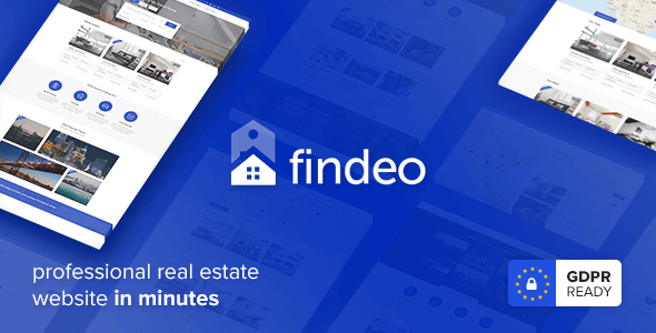 Findeo - Real Estate WordPress Theme - Real Estate WordPress