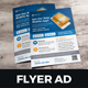 Mobile Apps Promotion Flyer Ad Design v2 - GraphicRiver Item for Sale