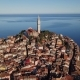 Aerial Panorama of Rovinj, Croatia - VideoHive Item for Sale