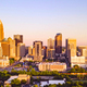 Aerial Fly in Over Charlotte North Carolina Downtown City Skyline - PhotoDune Item for Sale