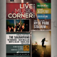 Live Music Event Flyer / Poster - GraphicRiver Item for Sale