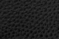 Close up of black leather as texture or background
