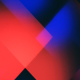 Clean Abstract Blue and Red Geometrical Background - VideoHive Item for Sale