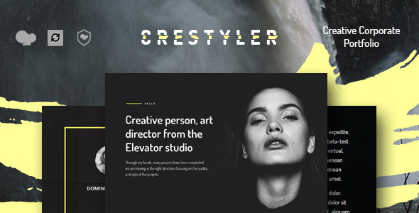 Image of Crestyler - Creative Portfolio WordPress Theme