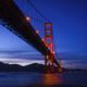 The Golden Gate Bridge at Dusk - PhotoDune Item for Sale