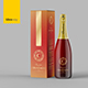 Champagne Packaging Mockup - GraphicRiver Item for Sale