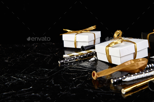 Birthday or Party accessories. - Stock Photo - Images