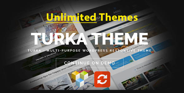Turka - Multi-Purpose WordPress Theme - Corporate WordPress