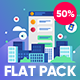 Flat Design Concepts Package - VideoHive Item for Sale