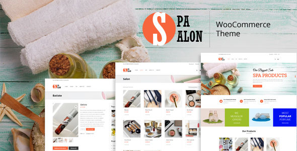 SPASALON - WooCommerce WordPress Theme for SPA and Salons