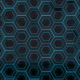 Futuristic Blue Hexagons - VideoHive Item for Sale