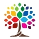 Color Tree Logo - GraphicRiver Item for Sale