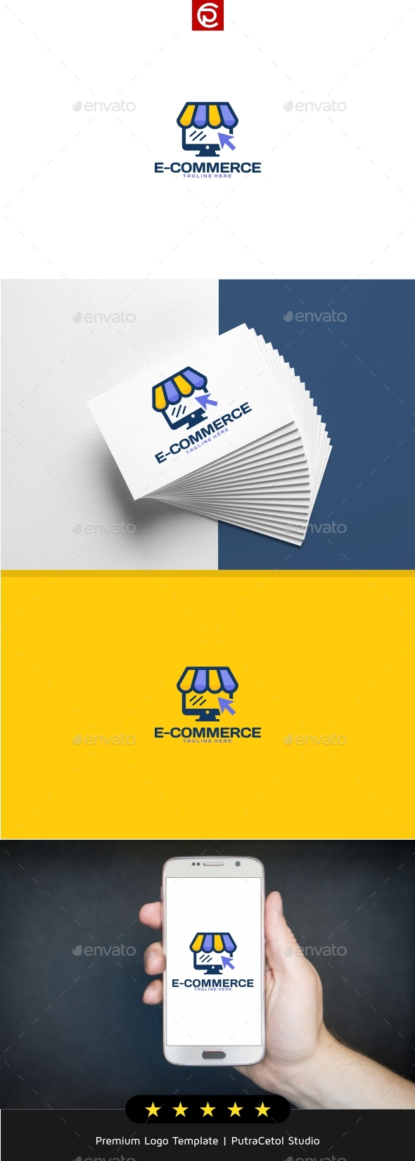 Online Shop Logo - Objects Logo Templates