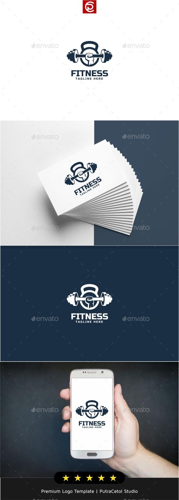Fitness Logo - Objects Logo Templates