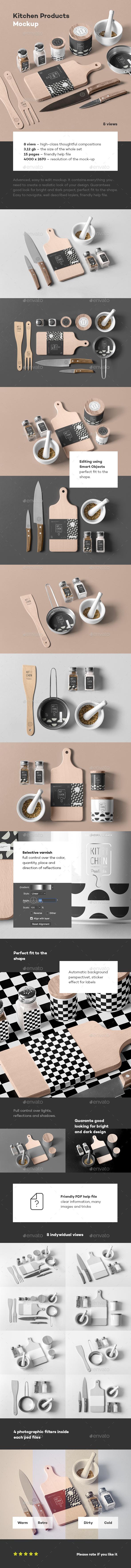 Kitchen Branding Mock-up