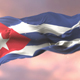 Cuba Flag at Sunset - VideoHive Item for Sale