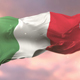 Flag of Italy Waving at Sunset - VideoHive Item for Sale