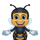 Bee Mascot - GraphicRiver Item for Sale