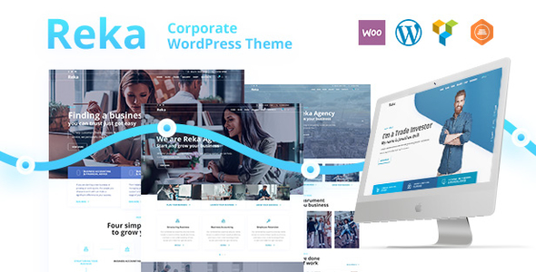 Reka | A Trendy Business WordPress Theme