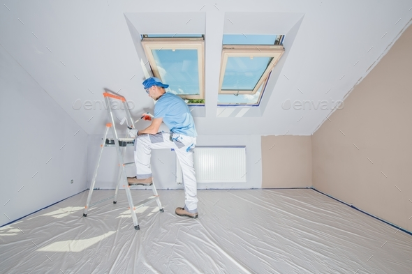 Repainting Home Interior - Stock Photo - Images