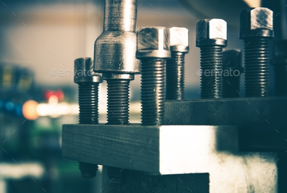 Industrial Grade Bolts - Stock Photo - Images