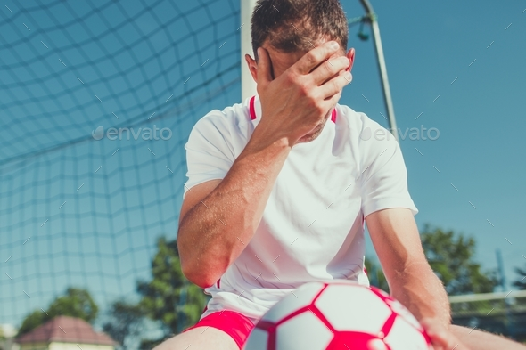 Soccer Fan Frustration - Stock Photo - Images