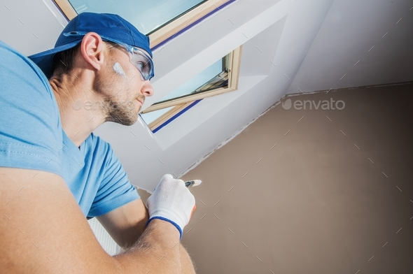 Room Painter Inspirations - Stock Photo - Images