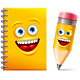 Notebook and Pencil - GraphicRiver Item for Sale