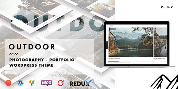 Outdoor - Creative Photography / Portfolio WordPress Theme - Photography Creative