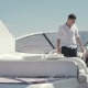 Agent Explaining Buyer the Details of Buying Yacht - VideoHive Item for Sale