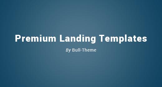 Popular Landing Page Templates