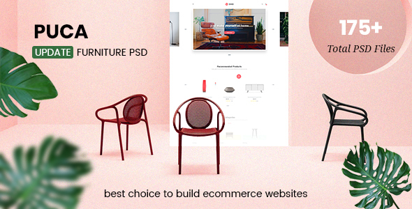 Puca - Multipurpose eCommerce PSD Template - Shopping Retail