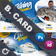 Fishing Tour Business Card Templates - GraphicRiver Item for Sale