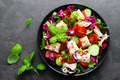 Salad with chicken meat - PhotoDune Item for Sale