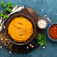 Hummus. Fresh homemade hummus with paprika - PhotoDune Item for Sale