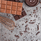 Delicious chocolate on rustic background - PhotoDune Item for Sale
