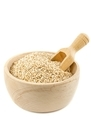 A Wooden Bowl of Sesame Seeds - PhotoDune Item for Sale